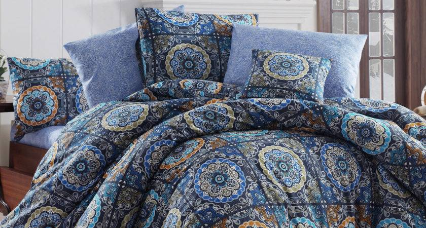 Ashley Double Duvet Cover Set Multi Coloured Achica