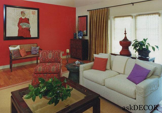 Asian Style Living Room Decor