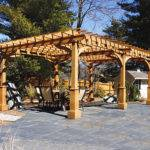 Asian Style Pergolas Traditional Patio Boston