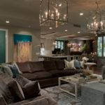 Astonishing Blue Brown Living Room Ideas Design Trends