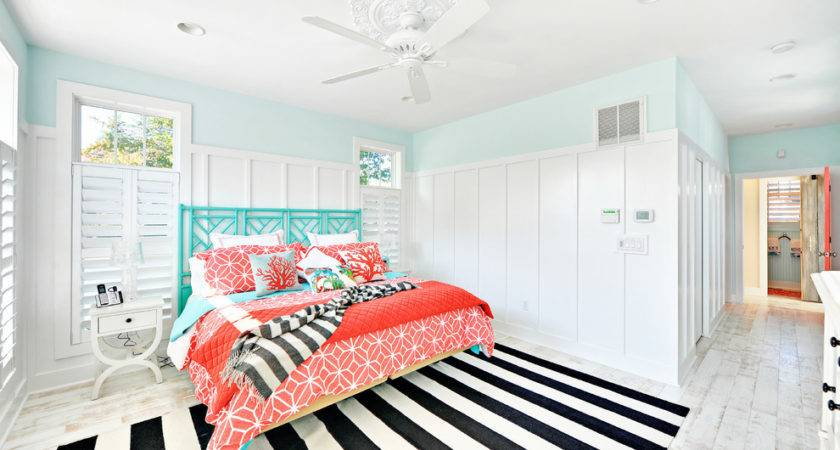 Astonishing Color Coral Blue Decorating Ideas Bedroom