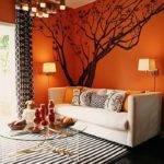 Astonishing Orange Living Room Ideas Design Paint
