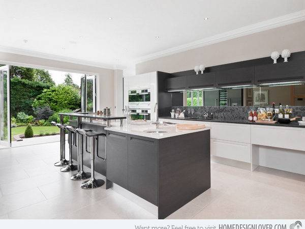 Astounding Grey Kitchen Designs Decoration House
