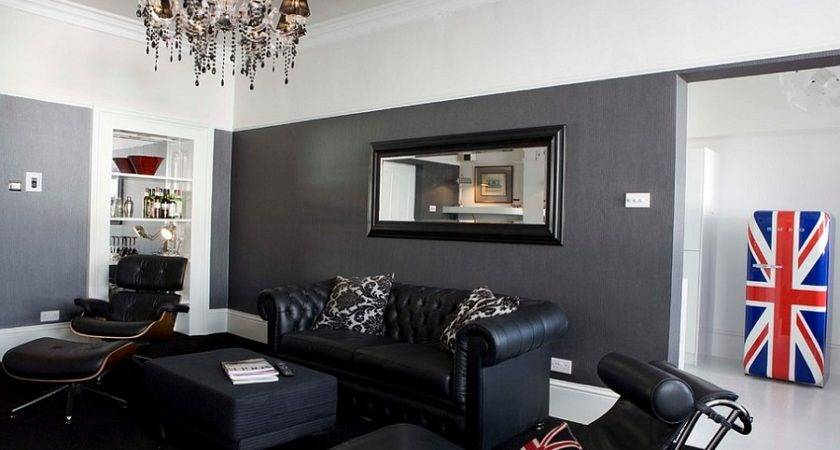 Awesome Black Furniture Crystal Chandelier Combination