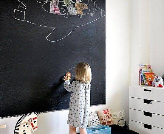 Awesome Chalkboard Cor Ideas Kids Rooms Digsdigs