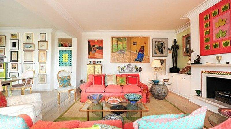 Awesome Colorful Living Room Design Ideas