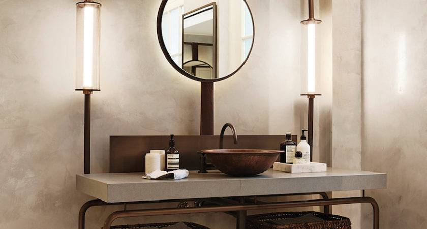 Awesome Industrial Bathroom Design Ideas Home Based
