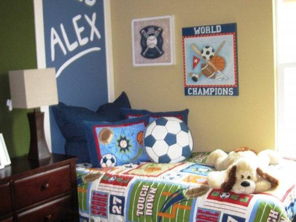 Awesome Kids Soccer Bedrooms Home Design Interior