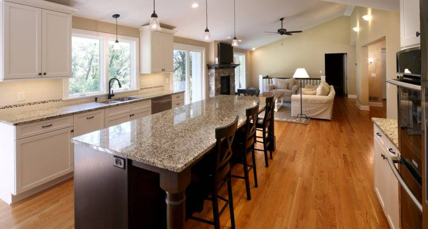 Awesome Kitchen Living Room Open Floor Plan