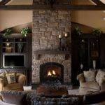 Awesome Living Room Setup Ideas Fireplace