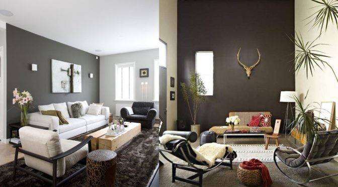 Awesome Living Rooms Grey Accent Interior God