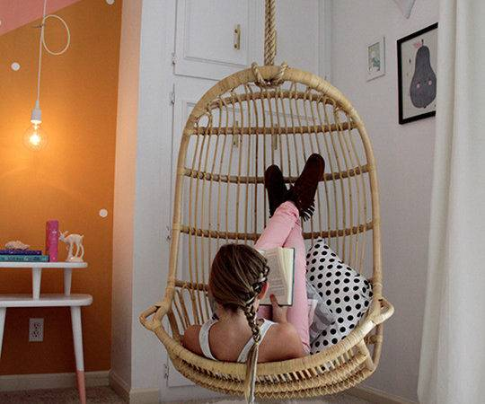 Awesome Spotting Hanging Chair Your Living Room