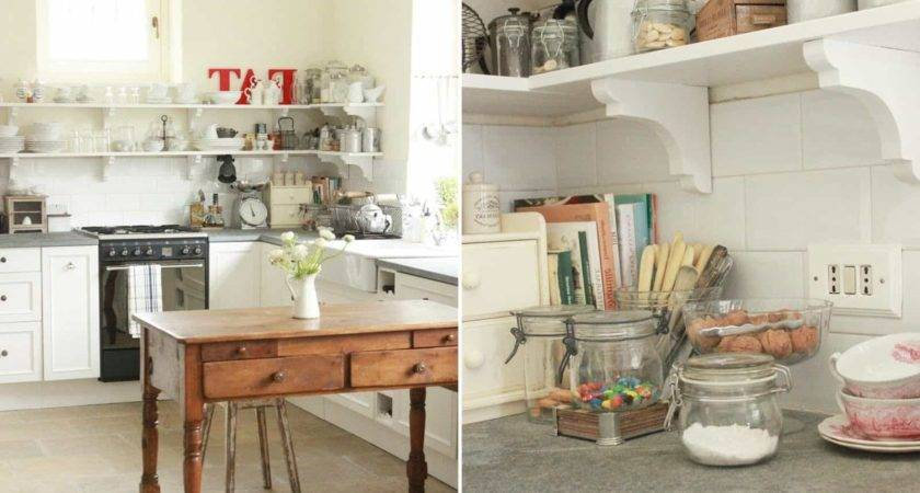 Awesome Unique Shabby Chic Kitchen