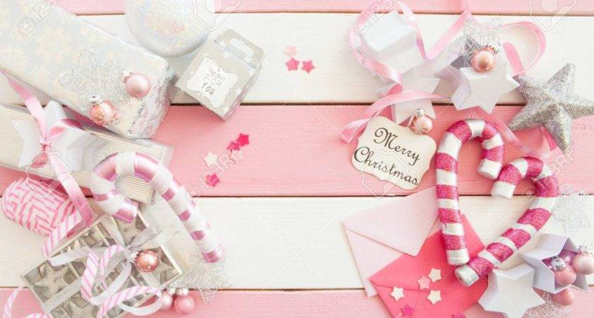 Baby Pink Christmas Ornaments Popular Tissue