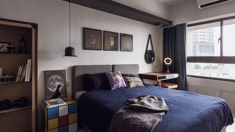 Bachelor Pad Bedrooms Young Energetic Men Home