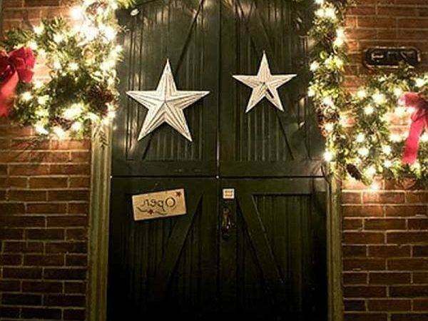 Back Ideas Christmas Door Decorations