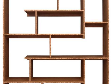 Bamboo Stagger Metro Shelving Modern Bookcases Other