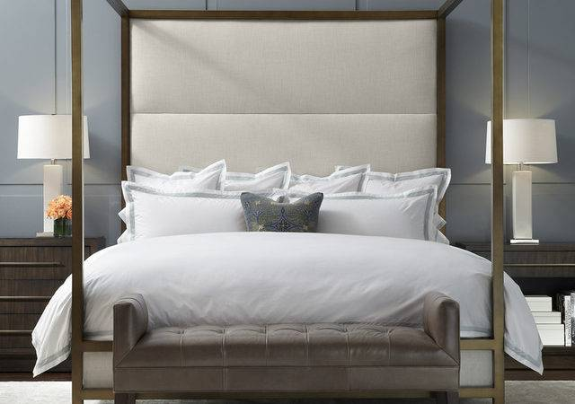 Banks Four Poster Bed Modern Charlotte Mitchell