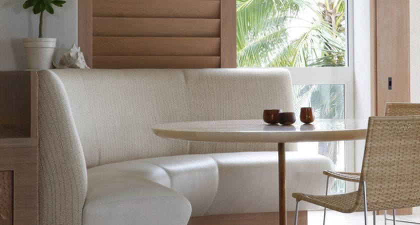 Banquette Seating Sale Dining Room Tropical