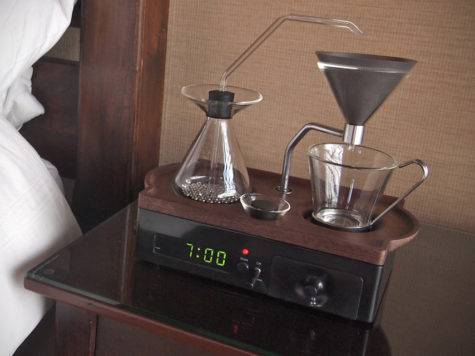 Barisieur Coffee Making Alarm Clock Hiconsumption