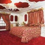 Baroque Red Gold Bedroom Ruby Ideas