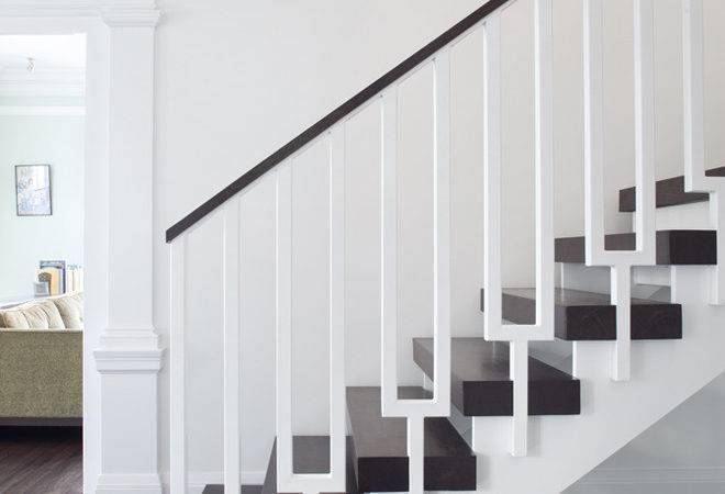 Baroque Stair Railing Designs Basement Contemporary