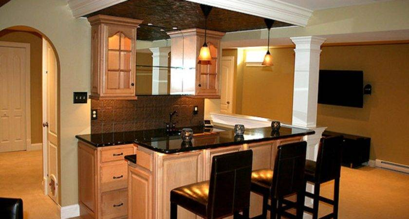 Basement Kitchen Ideas Small Bar Design