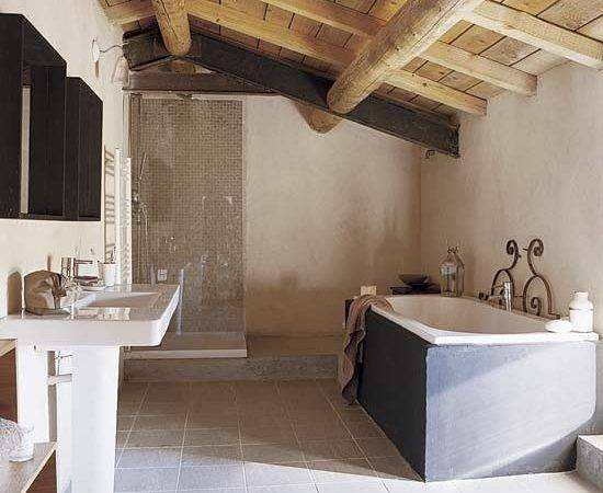Bathroom French Provencal Barn House Tour Housetohome