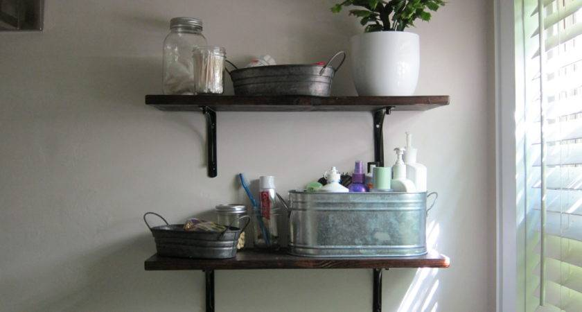 Bathroom Shelf Decor Bathrooms
