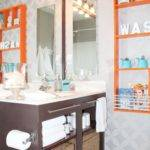 Bathrooms Teal Brown Home Design