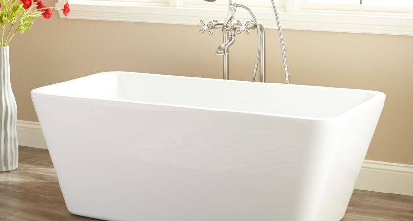 Baxter Acrylic Freestanding Tub Bathroom