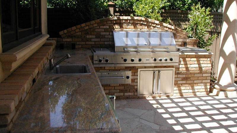 Bbq Landscaping San Jose Custom Barbecue