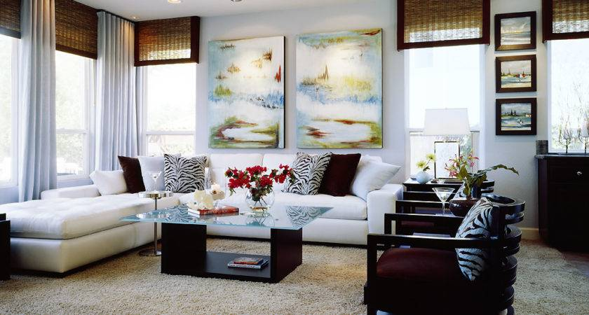 Beach Inspired Modern Room Robeson Design San