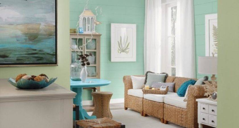 Beach Themed Living Room Photos