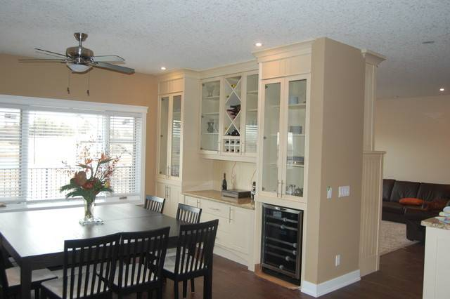 Beaton Cabinets Contemporary Dining Room Calgary