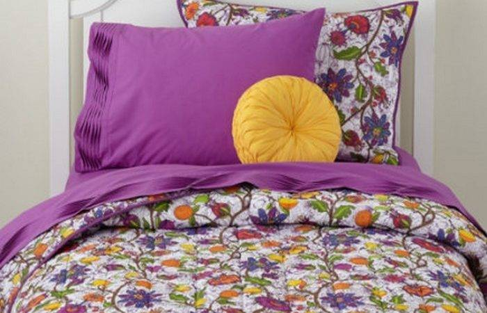 Beautiful Bedding Sets Girls Colorfull Flowers