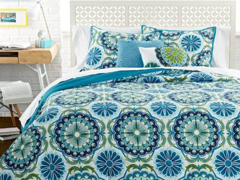 Beautiful Concept Cute Girl Comforters Teal Blue Mint