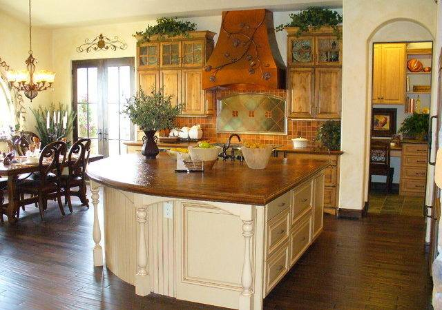 Beautiful Country Kitchen Whimsical Accents Rustic