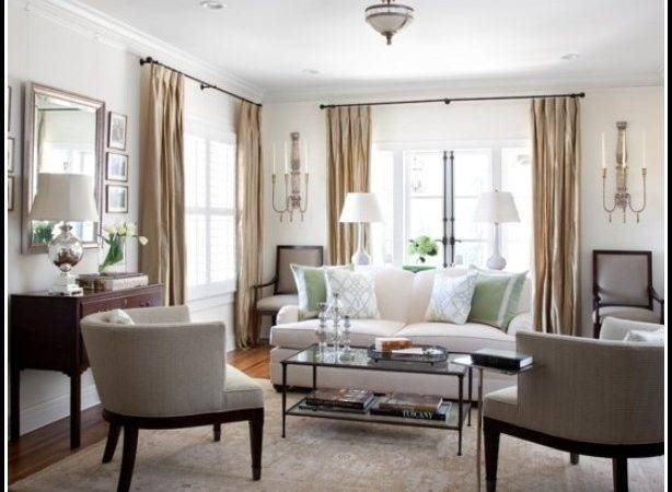Beautiful Curtains Small Living Room Home