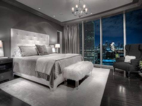 Beautiful Gray Master Bedroom Design Ideas Style