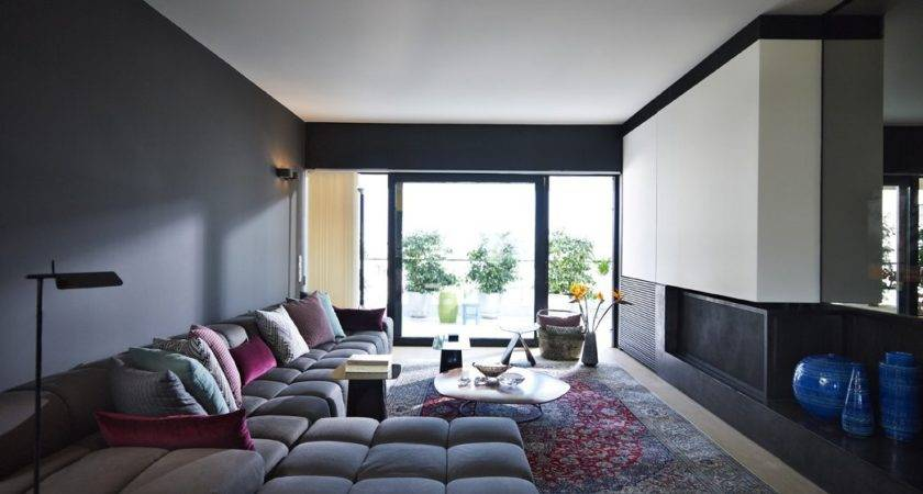Beautiful Impressive Modern Living Room Paint Colours