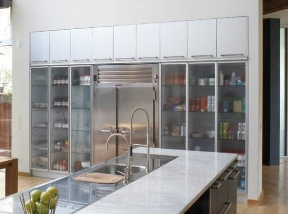 Beautiful Kitchen Cabinet Designs Glass
