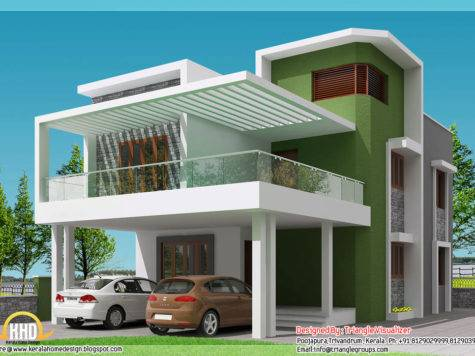 Beautiful Modern Simple Indian House Design
