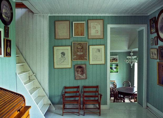 Beautiful Old Farm Sculptor Yves Bosquet Interior