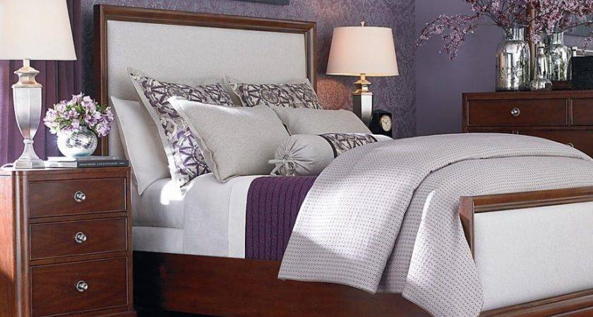 Beautiful Purple Wall Colors Modern Bedroom Design