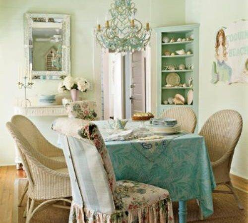 Beautiful Shabby Chic Dining Room Design Ideas Digsdigs