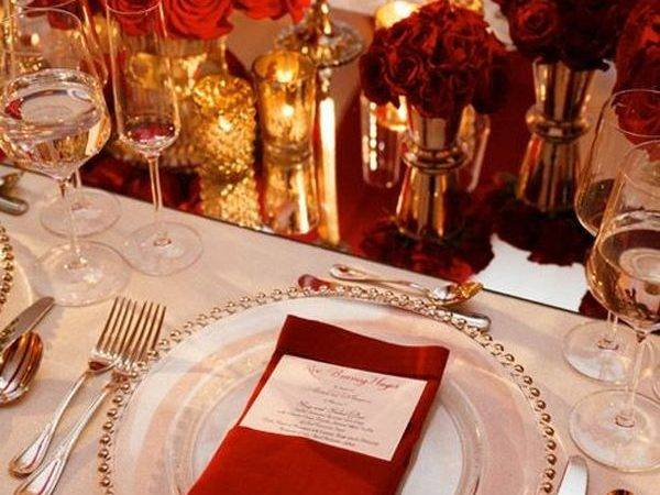 Beautiful Tablescape Ideas Valentine Day Weddings