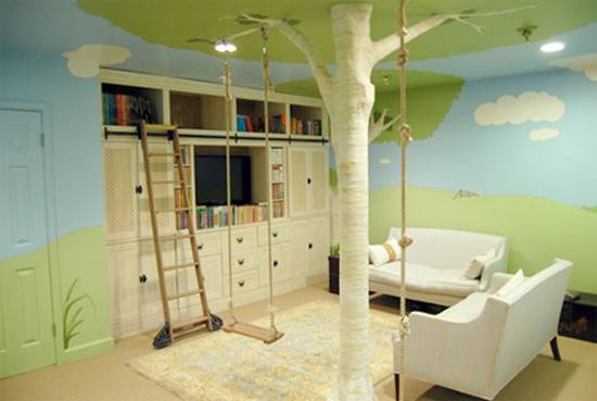 Beautiful Tree House Bedroom Designed Tropolis