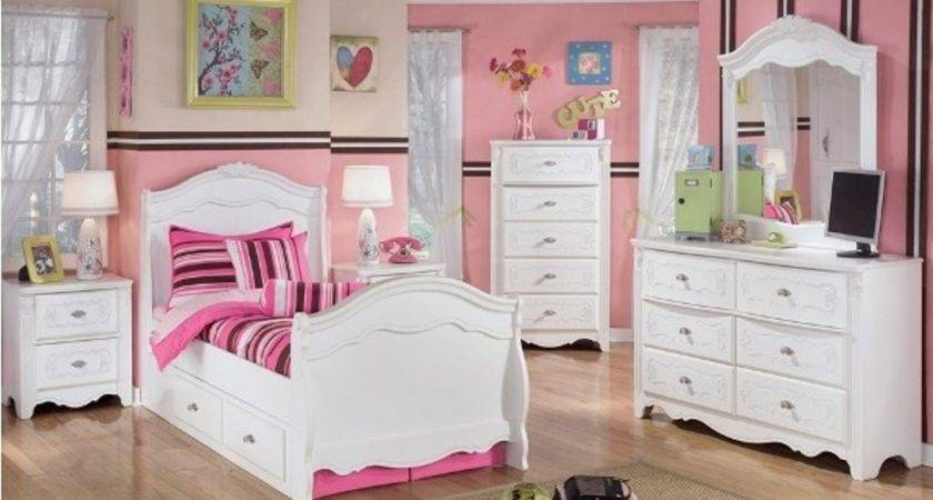 Beauty White Bedroom Furniture Girls