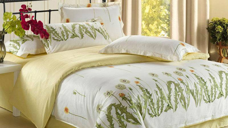 Bed Linen Sheet Bedding High Quality Velvet Fabric Cvc
